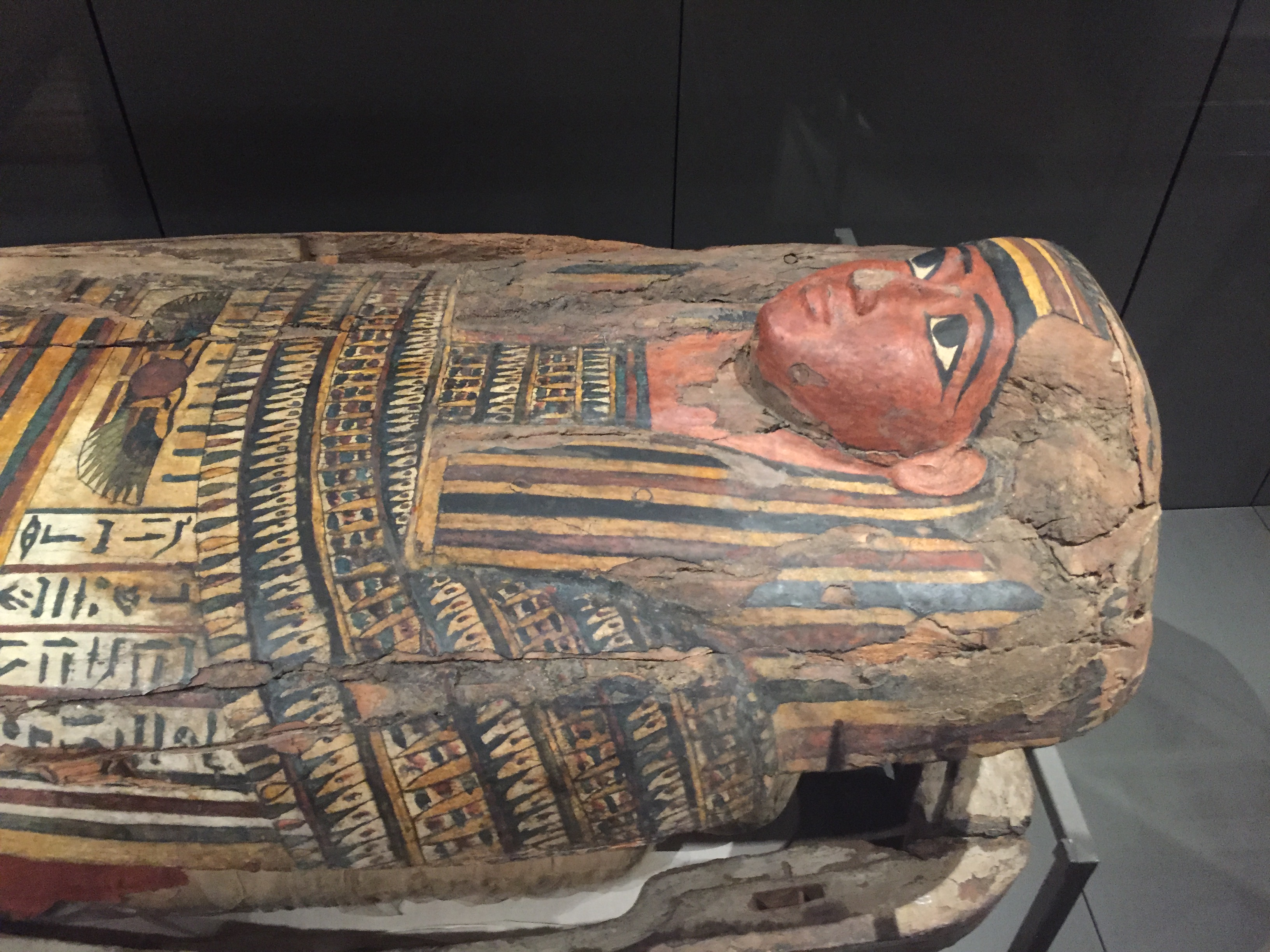 One of the many stunning artefacts in Turin's Egyptian Museum