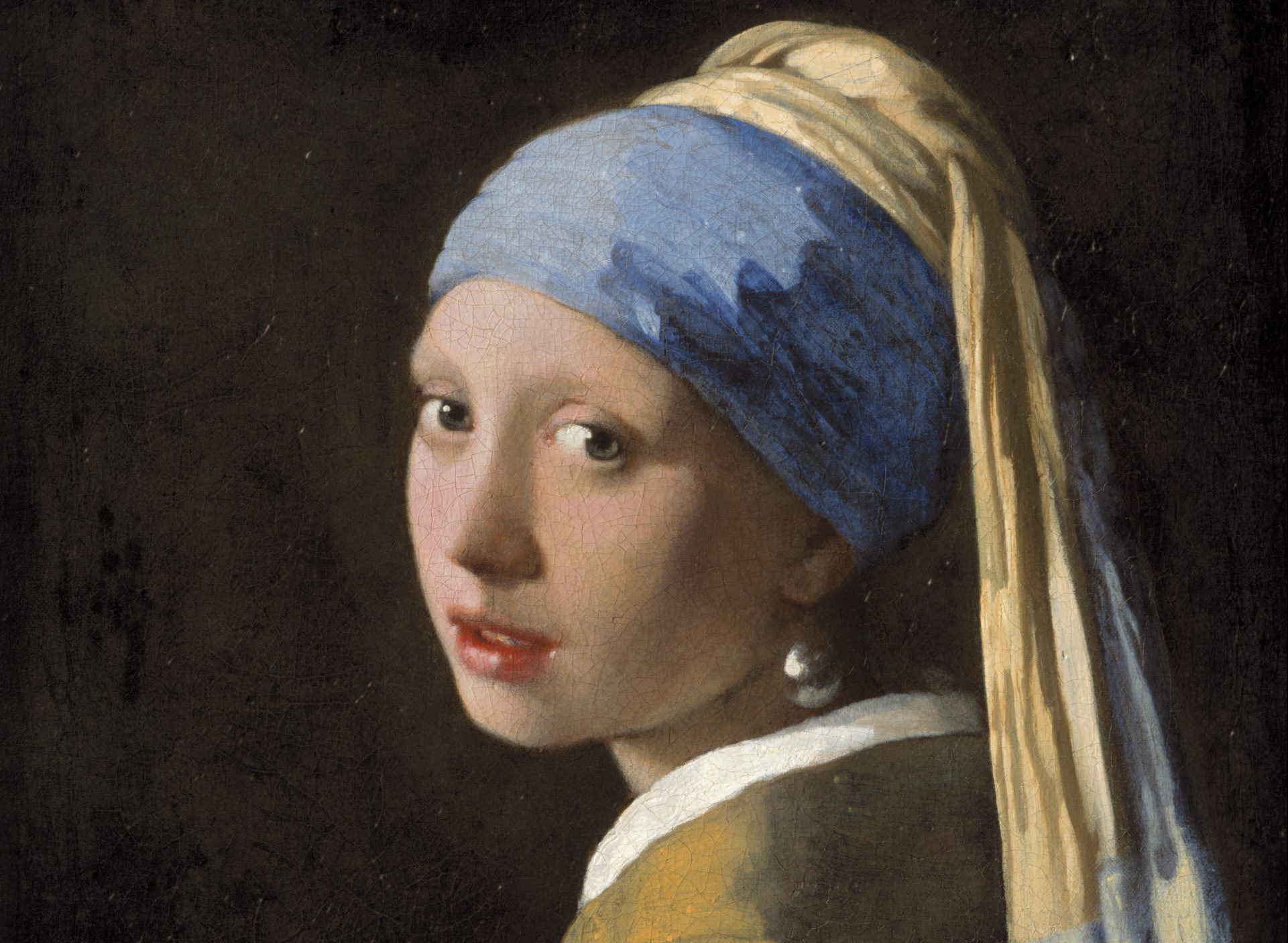 Girl with a Pearl Earring, voted The Netherlands' most beautiful painting