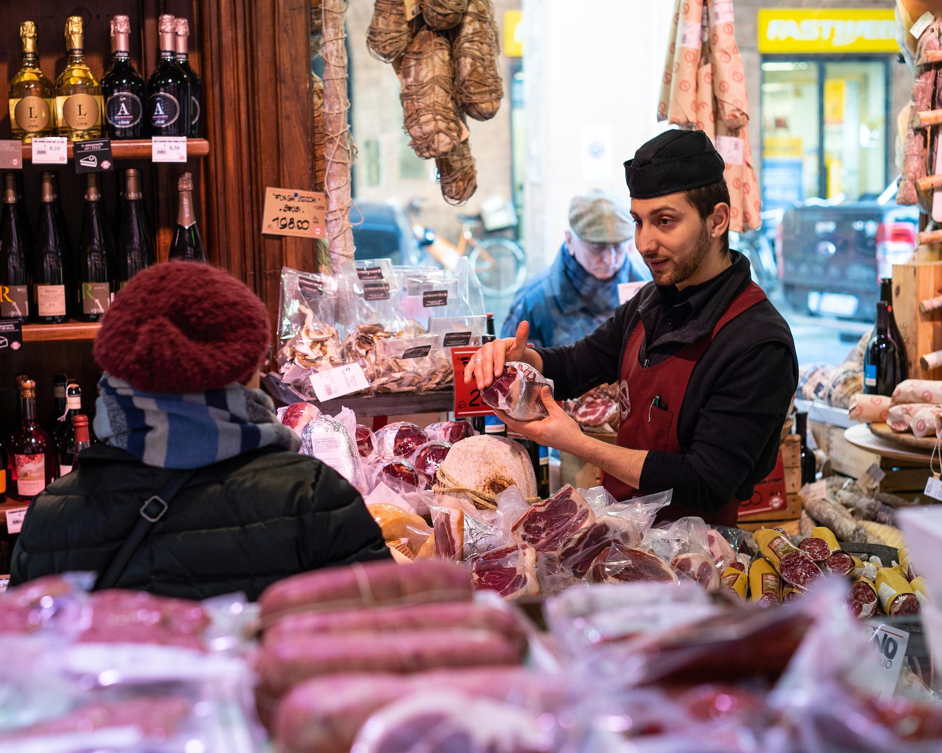 Delicious Emilia-Romagna: Parma and Culatello hams, Parmigiano Reggiano, pasta and dried mushrooms