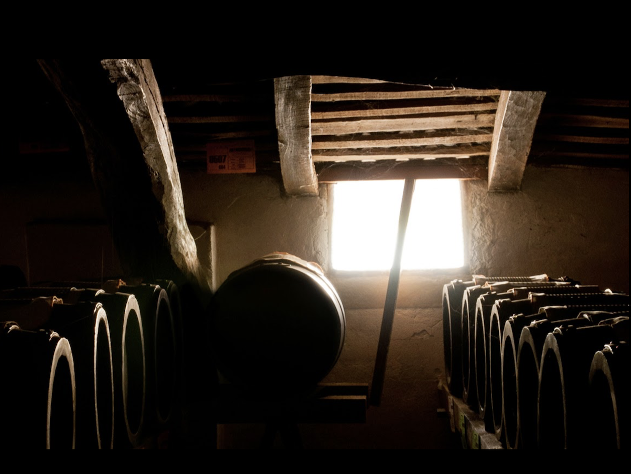 Barrels of Aceto Balsamico maturing at least 12 years